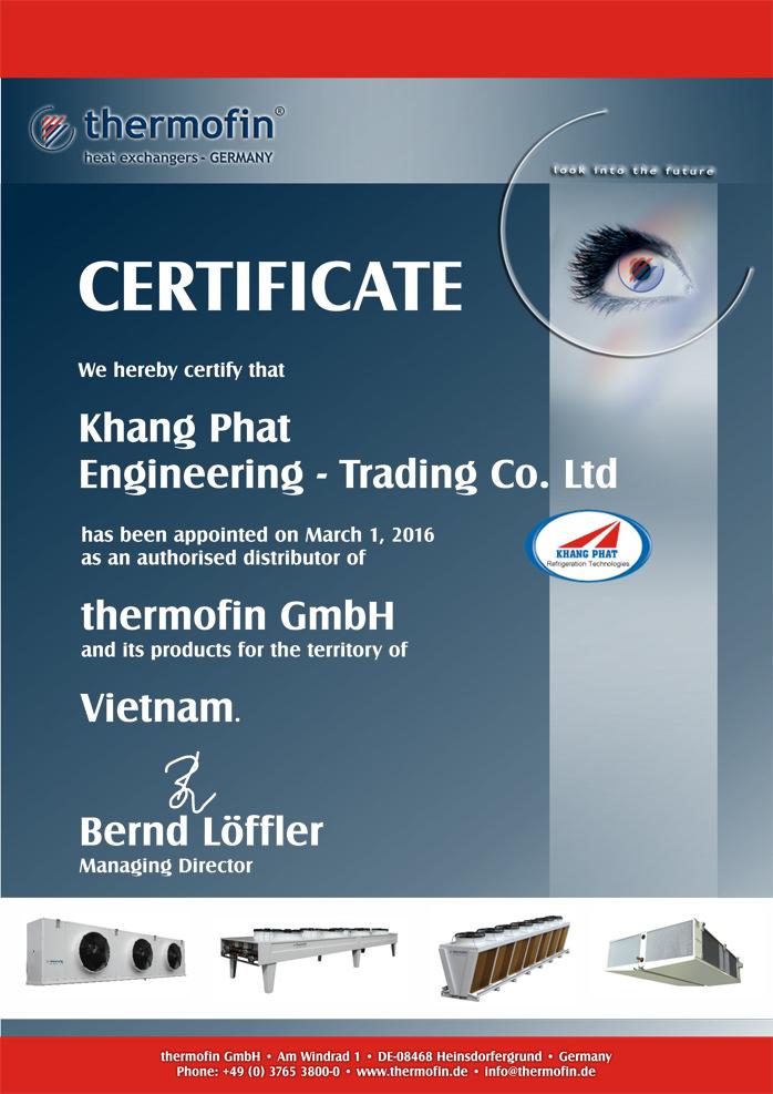 Certificate & Achievements